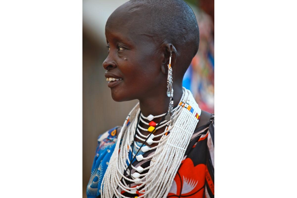 Shompole necklace