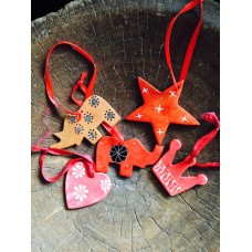 Soapstone decorations