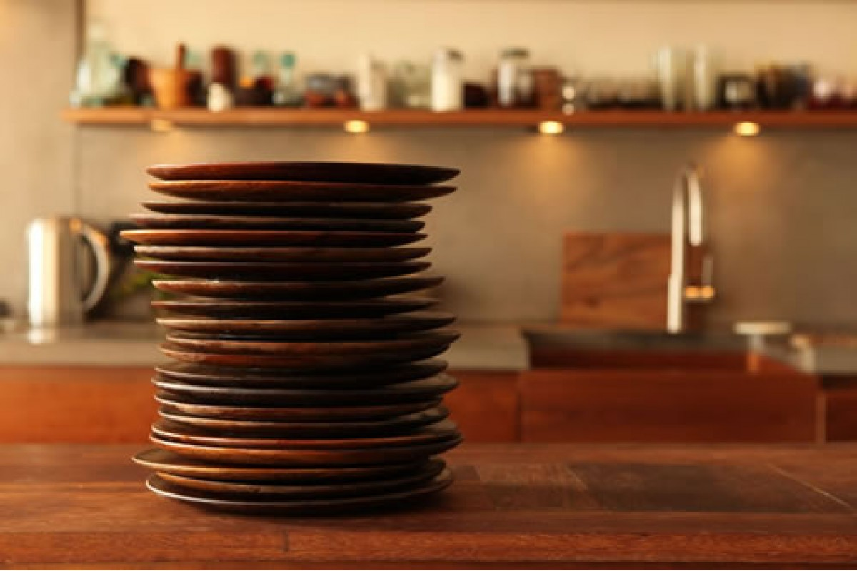 Large Wooden Dinner Plates
