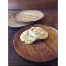 Small wooden side plates
