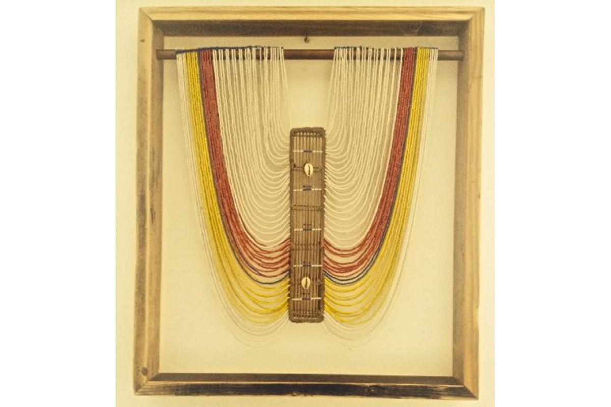 Dinka tribe beaded necklace