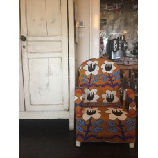 African Beaded Yoruba chairs - traditional design